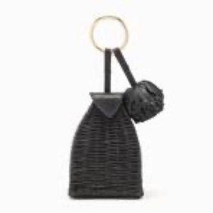 Ulla Johnson Nisha Trapeze Leather Keychain Bag